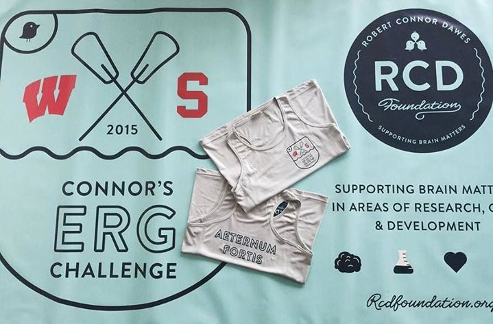Connor's Erg Challenge - Robert Connor Dawes Foundation  Stanford Rowing Wisconsin Rowing