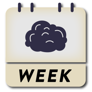 Brain Week RCD Foundation logo