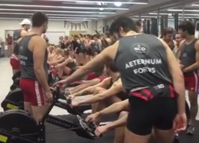 Wisconsin and Stanford team up to fight brain cancer in Connor's Erg Challenge.