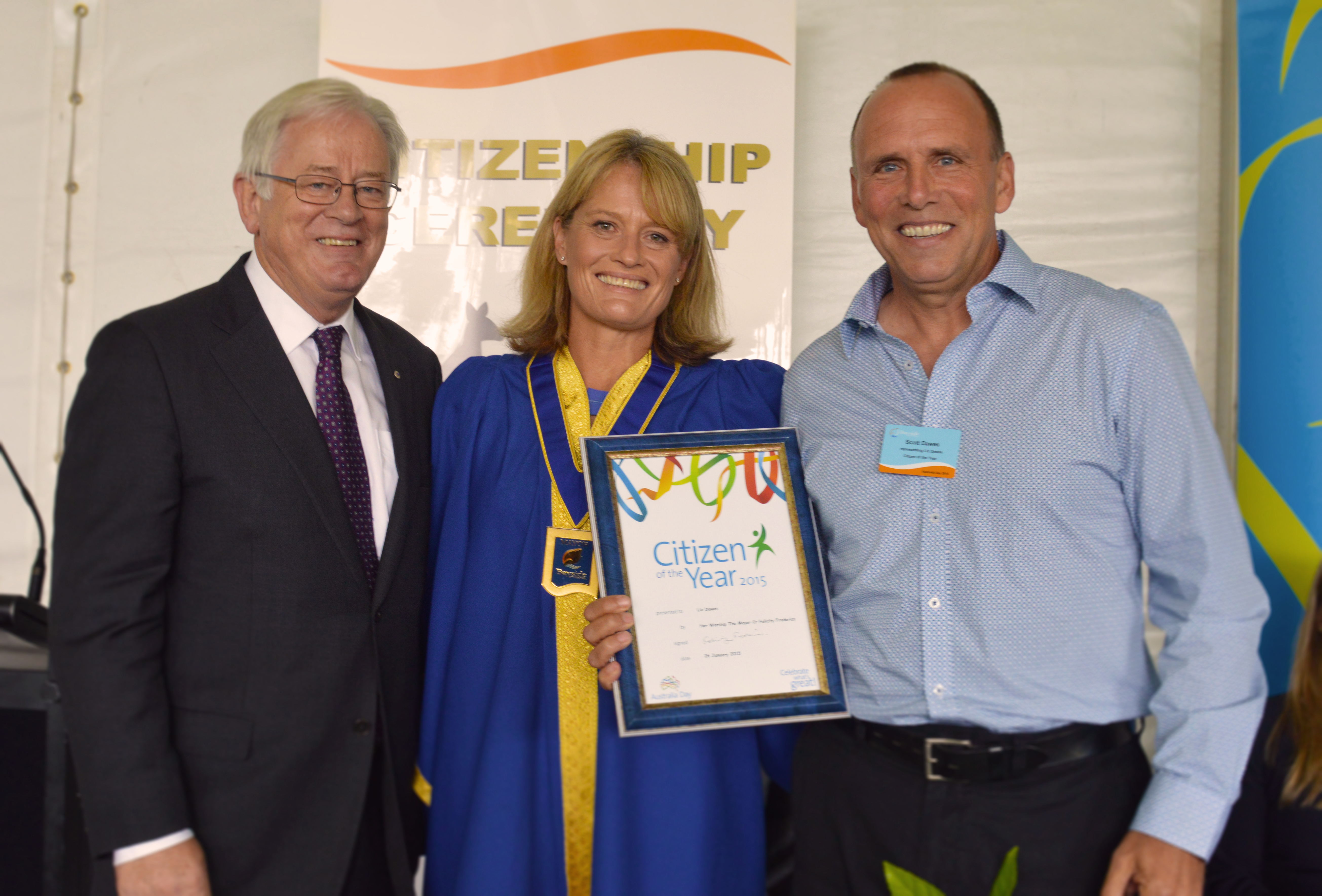 Scott Dawes - RCD Fund - Australia Day Award 2015